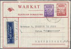 3260: Indonesien - Ganzsachen