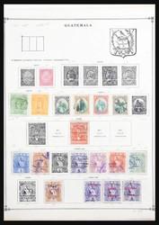 7375: Sammlungen und Posten Mittel Amerika - Sammlungen