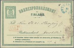 2530: Finnland - Ganzsachen