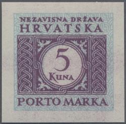 4085: Kroatien - Portomarken