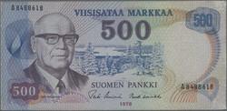 110.100: Banknotes - Finland
