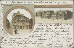 180010: Austria, Zip Code 1XXX, Vienna - Picture postcards