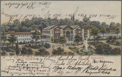 106920: Deutschland West, Plz Gebiet W-69, 692 Sinsheim- Elsenz - Postkarten