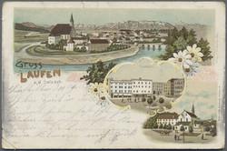 108210: Deutschland West, Plz Gebiet W-82, 821 Prien am Chiemsee