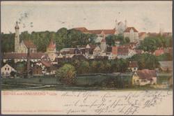 108910: Deutschland West, Plz Gebiet W-88, 891 Landsberg a. Lech
