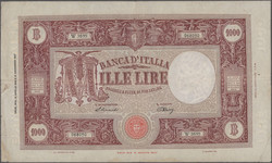 110.200: Banknotes - Italy