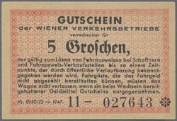110.370: Banknotes - Austria / Holy Roman Empire