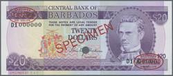 110.560.30: Banknotes – America - Barbados