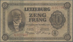 110.270: Banknotes - Luxembourg
