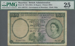 110.550.265: Banknotes – Africa - Mauritius