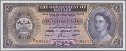 110.560.35: Banknotes – America - Belize (British Honduras)