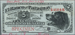 110.560.240: Banknotes – America - Paraguay