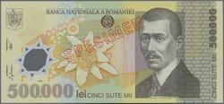 110.400: Banknotes - Romania