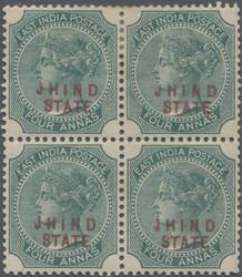 3175: Indien Staaten Jind Konventionsstaat