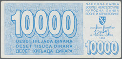 110.50: Banknotes - Bosnia and Herzegovina