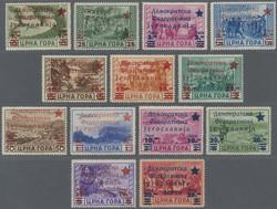 3790: Jugoslawien Volksrepublik Montenegro - Portomarken