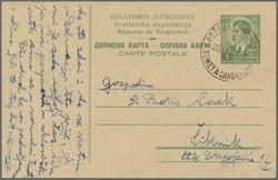 4085: Kroatien - Ganzsachen