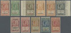 3576: Italian Eastern Africa Brit. Occupation