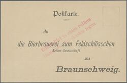 140: German Empire Stadtpost
