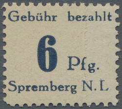 960: German Local Issue Grossräschen