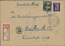 930: German Local Issue Glauchau