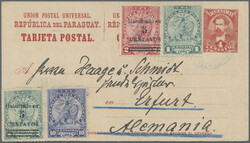 4905: Paraguay - Postal stationery