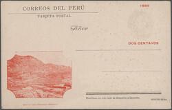 4915: Peru - Postal stationery