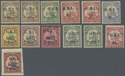 225: German Colonies Marshall Islands British Occupation