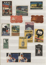 7740: Collections and Lots Poster Stamps, Vignettes - Vignettes
