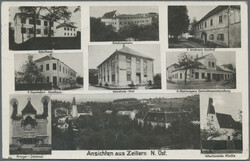 180020: Austria, Zip Code 2XXX, eastern and southern Lower Austria, Burgenland - Picture postcards