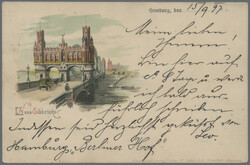 102000: Germany West, Zip Code W-20, 200 Hamburg - Picture postcards