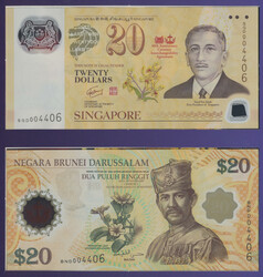 110.570.100: Banknotes – Asia - Brunei