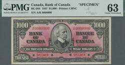 110.560.170: Banknotes – America - Canada