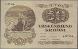 110.90: Banknotes - Estonia