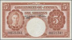 110.560.160: Banknotes – America - Jamaica