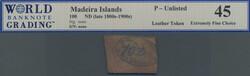 110.280: Banknotes - Madeira
