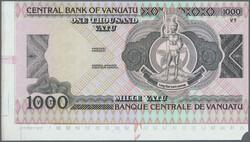 110.580.170: Banknotes – Oceania - Vanuatu