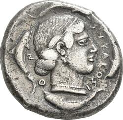 10.20.120: Ancient Coins - Greek Coins - Sicily