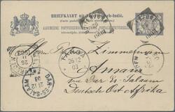 4635: Netherlands Indies - Postal stationery