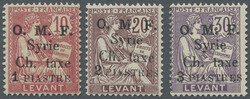 6140: Syria - Postage due stamps