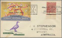 216010: Postal History, Pigeon, Pigeon Mail