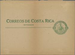 2320: Costa Rica - Postal stationery