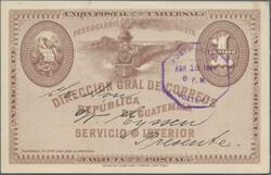 2930: Guatemala - Postal stationery