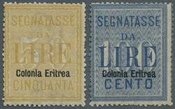 3560: Italian Eritrea - Fiscal stamps