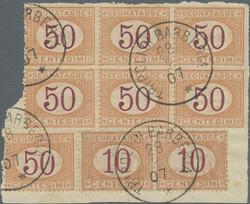 3570: Italian Libya - Postage due stamps