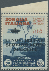 3580: Italian Somaliland - Official stamps