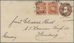 4165: Liberia - Postal stationery