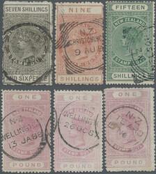 4565: New Zealand - Revenue stamps