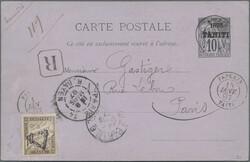 6155: Tahiti - Postal stationery