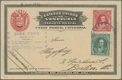 6640: Venezuela - Postal stationery